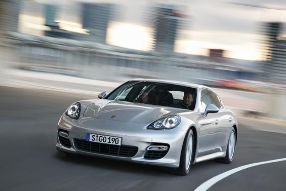 Der Panamera findet Käufer in den Vereionigten Staaten (Foto: Porsche)