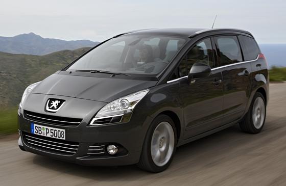 Peugeot bietet jetzt auch die Vans 5008 (Bild) und 3008 in Business Ausstattung an (Foto: Peugeot)