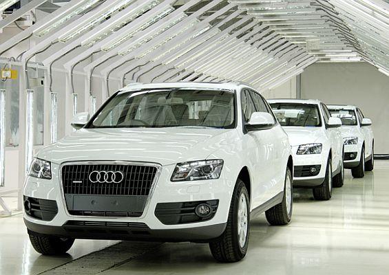 Audi Q5 Montage in Indien (Foto: Audi)