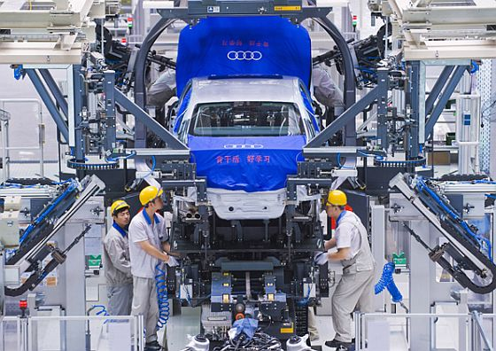 Audi Montage in Changchun