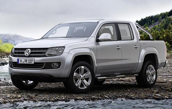 Der Volkswagen Amarok kommt auf den internationalen Märkten sehr gut an. (Foto: Volkswagen Nutzfahrzeuge)