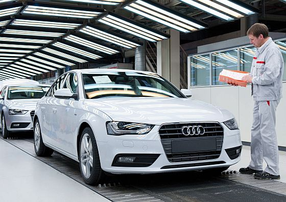 Audi A4 Endabnahme