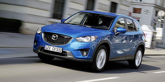 Der Mazda CX5 ist - neben dem Mazda6 - derzeit besonders beliebt und verhilft dem japanischen Autobauer zu neuen Bestmarken in einem schrumpfenden Markt. (Foto: Mazda)