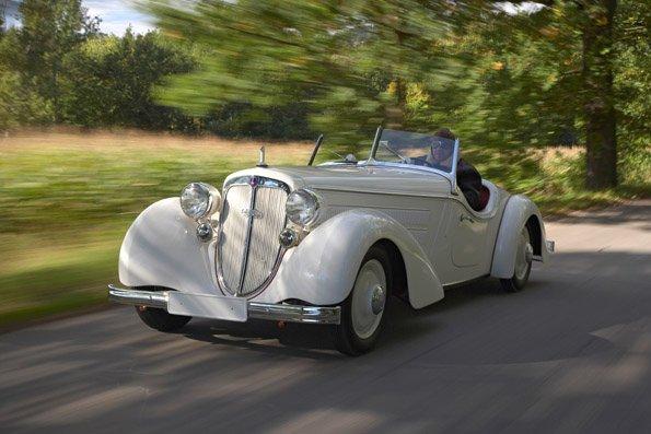 Rund 450.000 klassische Fahrzeuge und Youngtimer sind in Deutschland zugelassen, 1 Prozent des gesamten Pkw-Bestandes. Hier im Bild ein Audi Front 225 (Foto: Audi)