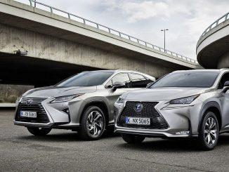 Die Bestseller von Lexus: Der SUV RX und der Crossover NX (v.l.n.r.) (Foto: Lexus)