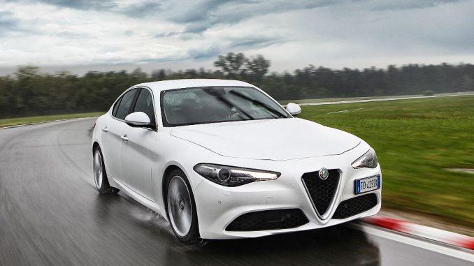Mit der neuen Giulia könnte Alfa wieder erfolgreicher werden. Die hohen Zuwächse in der prozentaulen Darstellung basieren auf sehr niedrigen Zulassungszahlen. (Foto: FCA Germany)