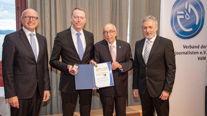 Verleihung Goldener Dieselring durch den VdM